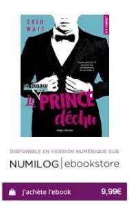 Les héritiers - tome 4 Le prince déchu